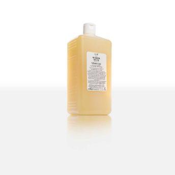 Die rein pflanzliche Schmierseife mit Olivenöl und Rosmarinduft ist ein seit Jahrhunderten bewährter, biologisch abbaubarer Allzweckreiniger.